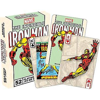 Playing Card - Marvel - Iron Man Poker Licensed Gifts Toys 52251