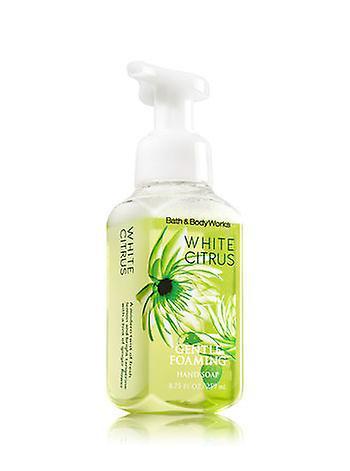 Bath & Body Works White Citrus Gentle Foaming Hand Soap 8.75 oz / 259 ml ( 2 Lot )