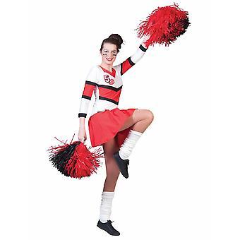 Cheerleader Milla Costume Women's Heater Cheerer Sport Cheerleader Supporter Women's Costume