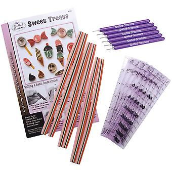 Quilling Klasse Pack Kit Sweet behandelt Q291cp