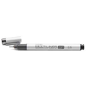 Copic Multiliner Sp Black Ink Marker 0.5 Tip Mlsp 05