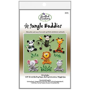 Quilling Kit Jungle copains Q274