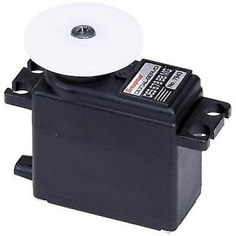 Graupner Midi servo Digital servo Gear box material: Metal Connector system: JR