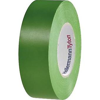 Electrical tape HellermannTyton HelaTape Flex 1000+ Yellow (L x W) 20 m x 19 mm Content: 1 Rolls