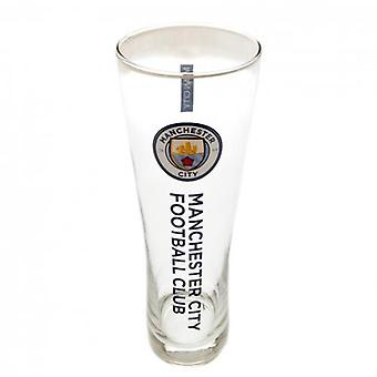 Manchester City Tall Beer Glass