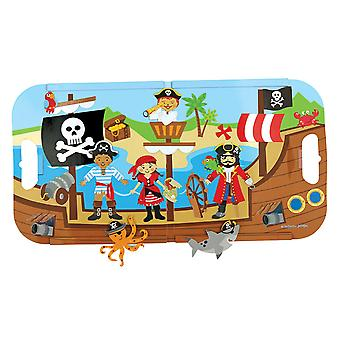 Magnetic Play Set-Pirate SJ110829