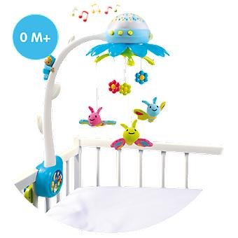 Smoby Flower Mobile (Babies , Nursery , Crib Accessories)