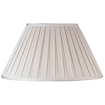 Endon CARLA-16 inch Cream Pleated Empire Lamp Shade