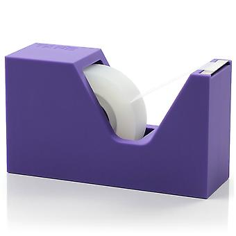 Lila Lexon Buro Kautschuk Tape Dispenser