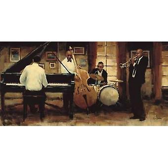 Allt som Jazz affisch Skriv av Myles Sullivan