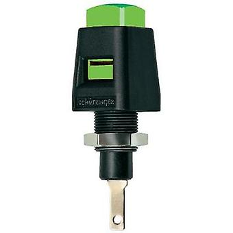 Spring-loaded mounting terminal Green 5 A Schützinger ESD 4323 G
