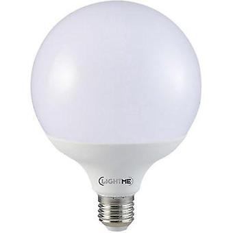 LED E27 globo 14 W = 100 W Warm white (Ø x L) 120 mm x 164 mm EEC: LightMe de a + 1 PC