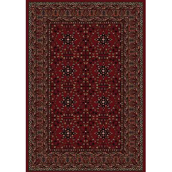Dayton Red Orential Style Traditional Rug