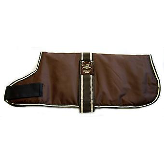 Padded Waterproof Coat Brown 51cm (20