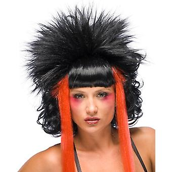 Craziana Witch Vampiress Vampire Voodoo Day of The Dead Ghost Women Costume Wig