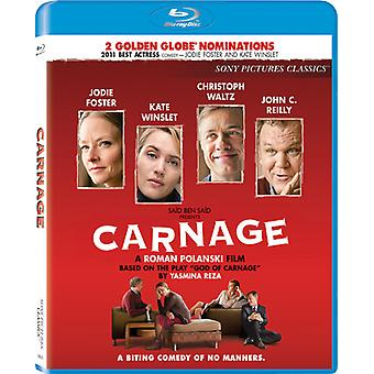 Carnage [BLU-RAY] USA import
