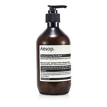 Aesop Geranium blad Body balsem - 500ml / 16,67 oz