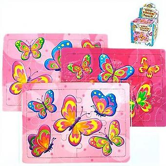 Jigsaw - Butterfly design card Jigsaw - Value Pack of 8