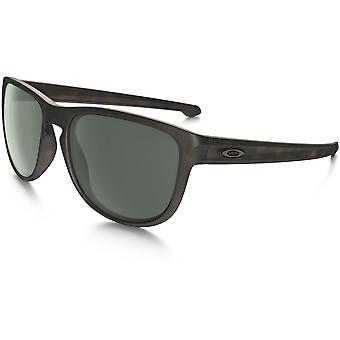 Oakley Sliver Round Sunglasses (Dark Grey Lens/Brown Tortoise Frame)