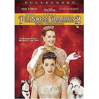 Princess Diaries 2-Royal Engagement [DVD] USA import