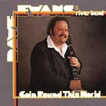 Dave Evans - går Round the World [CD] USA import