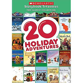 20 Holiday Adventures - Scholastic Storybook [DVD] USA import