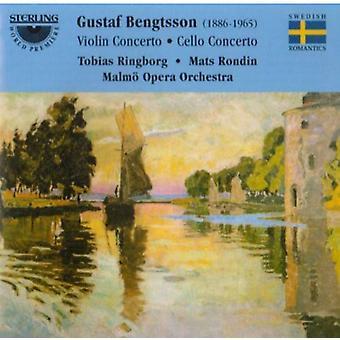 G. Bengtsson - Gustav Bengtsson: Violinkoncert; Cello Concerto [CD] USA importerer