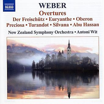 C.m. Von Weber - Weber: Ouvertüren [CD] USA import