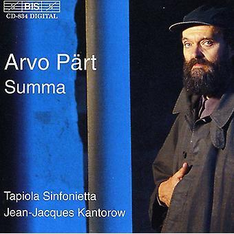 A. Part - P Rt: Summa [CD] USA import
