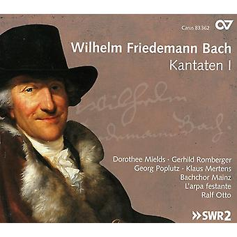 W.F. Bach - Wilhelm Friedemann Bach: Kantaten, importación USA Vol. 1 [CD]