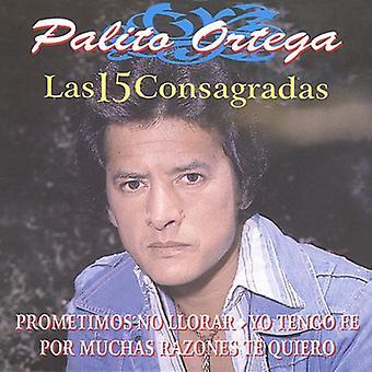 Las 15 Grandes De Palito eller -Las 15 Grandes De Palito Orteg [CD] USA import