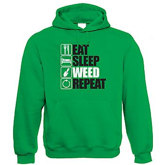 Eat Sleep Weed Repeat Hoodie (S to 5XL)