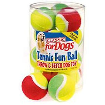 Classic For Pets Two Tone Tennis Fun Ball (Perros , Juguetes y deporte , Pelotas)
