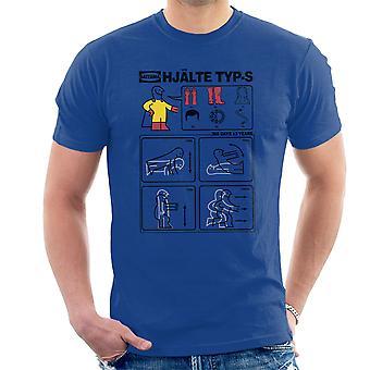Held Typ S Ikea Anleitung einen Schlag Mann Herren T-Shirt