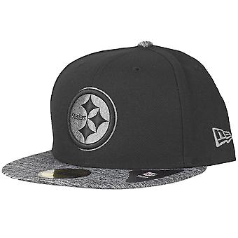 New Era 59Fifty Fitted Cap - GREY II Pittsburgh Steelers