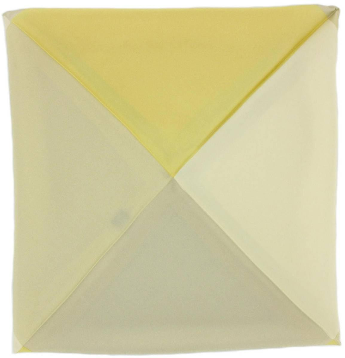 Michelsons of London Four Way Silk Handkerchief - White
