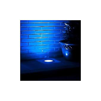 LED Robus Mains LED Recessed Groundlight With 6 Blue LED's