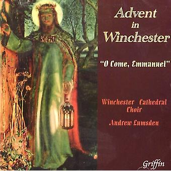 Winchester domkirke koret - Advent i Winchester: O kommer, Emmanuel [CD] USA import
