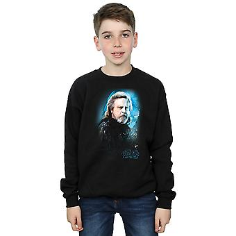 Star Wars Boys The Last Jedi Luke Skywalker Brushed Sweatshirt