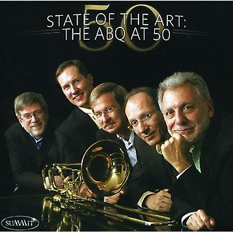 Amerikanske messingkvintet - State of the Art: The Abq på 50 [CD] USA importerer