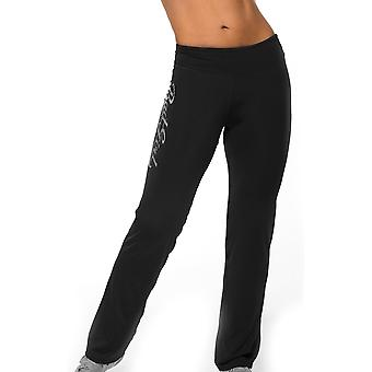 Bad Girl Logo Fitness Pants - Black