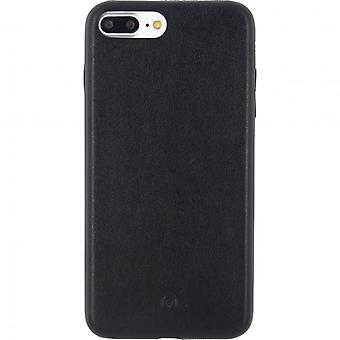 Mobilisieren Sie, Telefon Slim Leder Case Apple iPhone 7 Plus schwarz