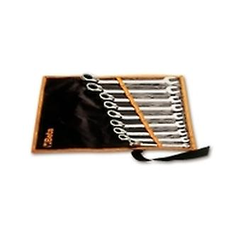 Beta 142 /B6 Set Of 6 Reversible Ratcheting Combination Spanners In Wallet