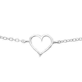 Hart - 925 Sterling zilveren ketting armbanden