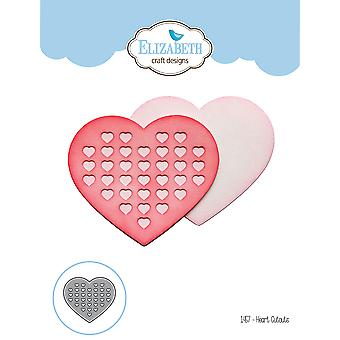 Elizabeth Craft Metal Die-Heart Cutouts EC1457