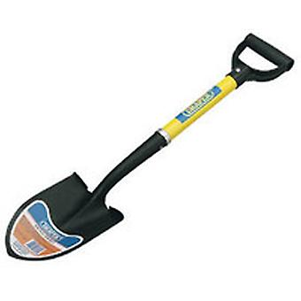 Draper 57569 Round Point Mini Shovel With Fibreglass Shaft