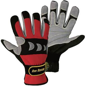 FerdyF. 1977 Red, Black Artificial-Leather and Spandex Rope Rescue XXL (11) EN 388