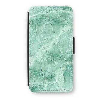Samsung Galaxy S8 Plus Flip Case - Green marble