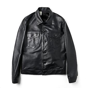 Owen Mens Leather Jacket