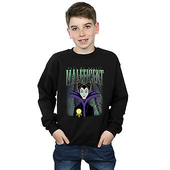 Disney gutter Sleeping Beauty Maleficent montasje Sweatshirt